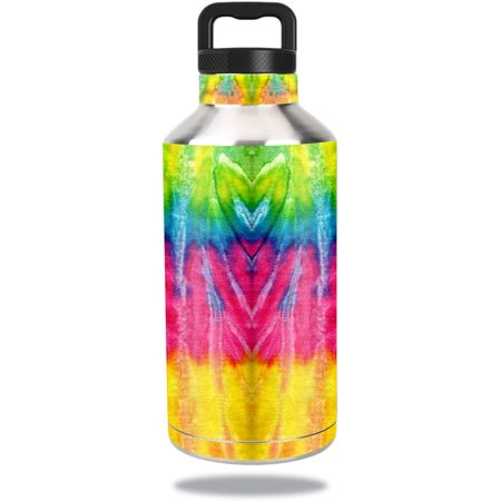 MightySkins Protective Vinyl Skin Decal for Ozark Trail Water Bottle 64 oz wrap cover sticker skins Tie Dye 2 - Tie Dye Bottles