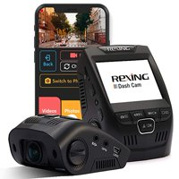 """Rexing V1 Wi-Fi Car Dash Cam 2.4"""" LCD FHD 1080p 170 Wide Angle Dashboard Camera Recorder with G-Sensor, WDR, Loop Recording, Supercapacitor, Mobile App"""