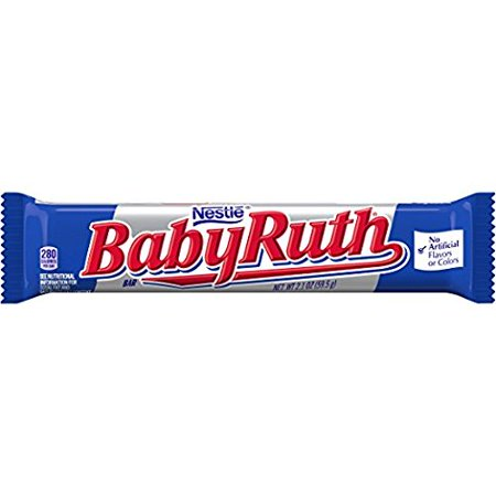 Baby Ruth Candy Bars, 2.1 Ounce Bar (Pack of 12) By - Baby Ruth Miniatures