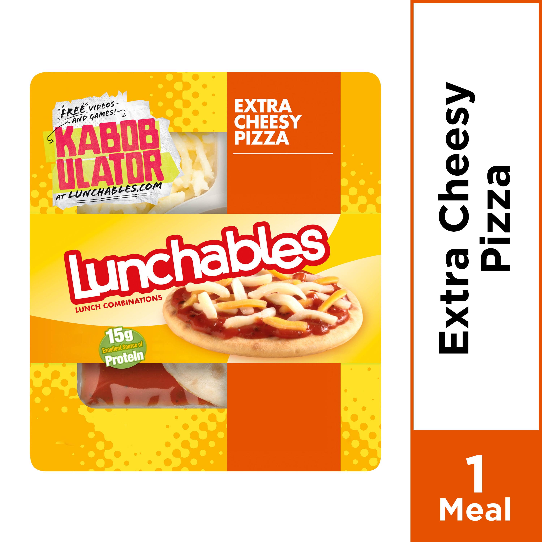 Lunchables Extra Cheesy Pizza, 4.2 oz