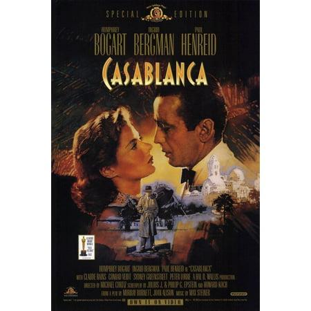 Julian Casablancas Halloween (Casablanca POSTER (11x17) (1942) (Style)