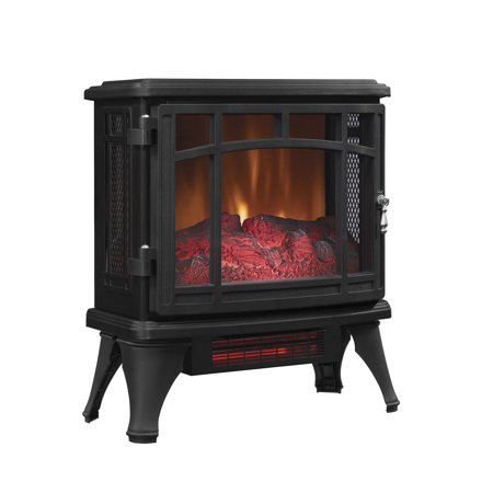 Duraflame Infrared Quartz Fireplace Stove, Black Classic Stoves Fireplaces