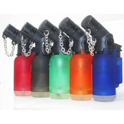 10 Pack 45 Degree Angle Jet Flame Butane Torch Lighter Refillable Windproof, Single flame By MegaDeal