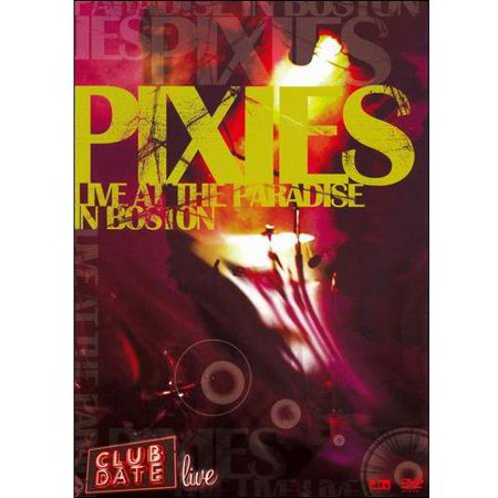 Halloween Club Events Boston (Pixies: Club Date Live At The Paradise In)
