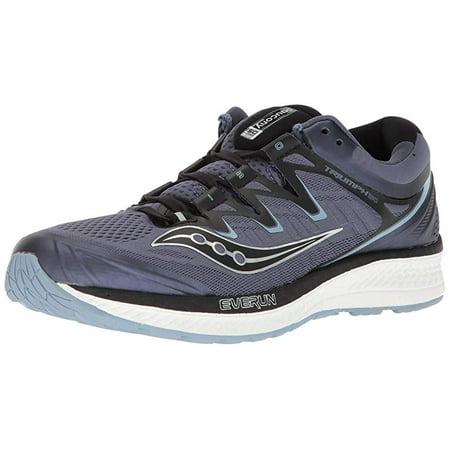 5c3bdbf3 Saucony Men's Triumph ISO 4 Running Shoe, Grey/Black, 12.5 D US