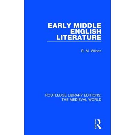 Early Middle English Literature Hardcover