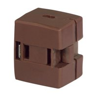 Polarized Click-On Cord End In-Line Outlet, PartNo BP2607B-SP, by Cooper Wiring