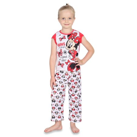 Dependable Toddler Girls Disney Jr Minnie Mouse 2 Piece Pajama Set Size 5t Girls' Clothing (newborn-5t)
