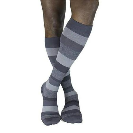 0cd688da1 sigvaris - sigvaris 832cslw27 microfiber shades 20-30 mmhg womens knee high  compression socks  44  heather graphite - small long - Walmart.com