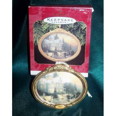 - Hallmark Keepsake Ornament – Victorian Christmas 1st in Series by Thomas Kinkade, Painter of Light 1997 (QXI6135)