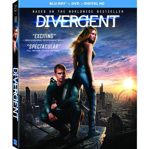 Divergent (Blu-ray + DVD + Digital HD) (With INSTAWATCH) (Widescreen)