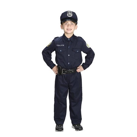 Jr. Police Officer Suit, Size 2/3 with police cap,badge, and belt to look and feel like the real deal., BEAUTIFUL DETAILS to look and feel the part of a real.., By Aeromax (Real Pimp Suits)