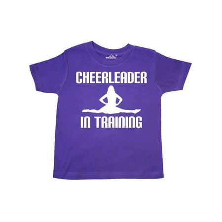 Cheerleader In Training Cheerleading Toddler T-Shirt - Toddler Cheerleading Uniforms