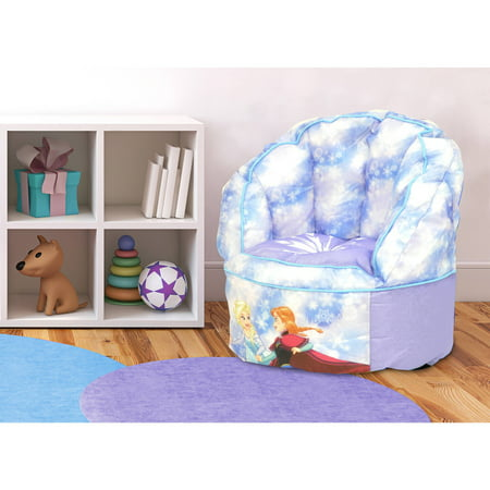 Disney frozen mini toddler sofa chair with piping for Toddler mini chair