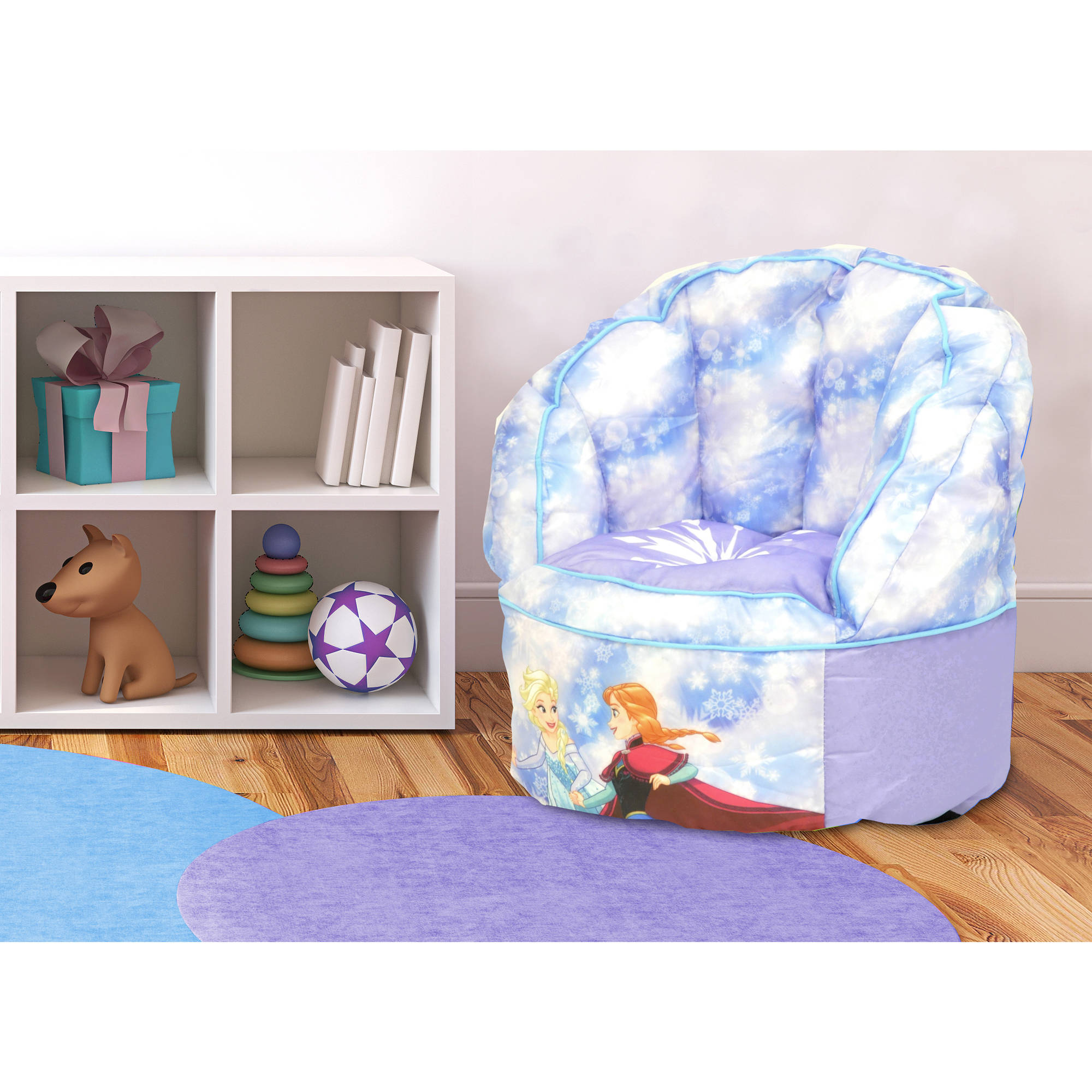 Disney Frozen Mini Toddler Sofa Chair with Piping