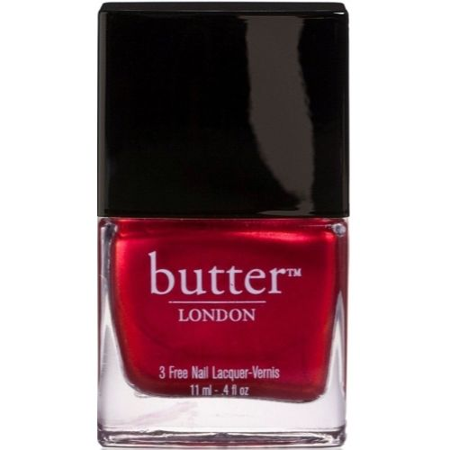 Butter London Nail Lacquer Polish, Red Shades, Knees Up Half Size .2 oz - Walmart.com