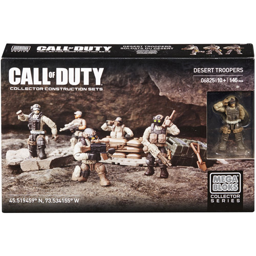 Mega Bloks Call of Duty Desert Troopers Building Set