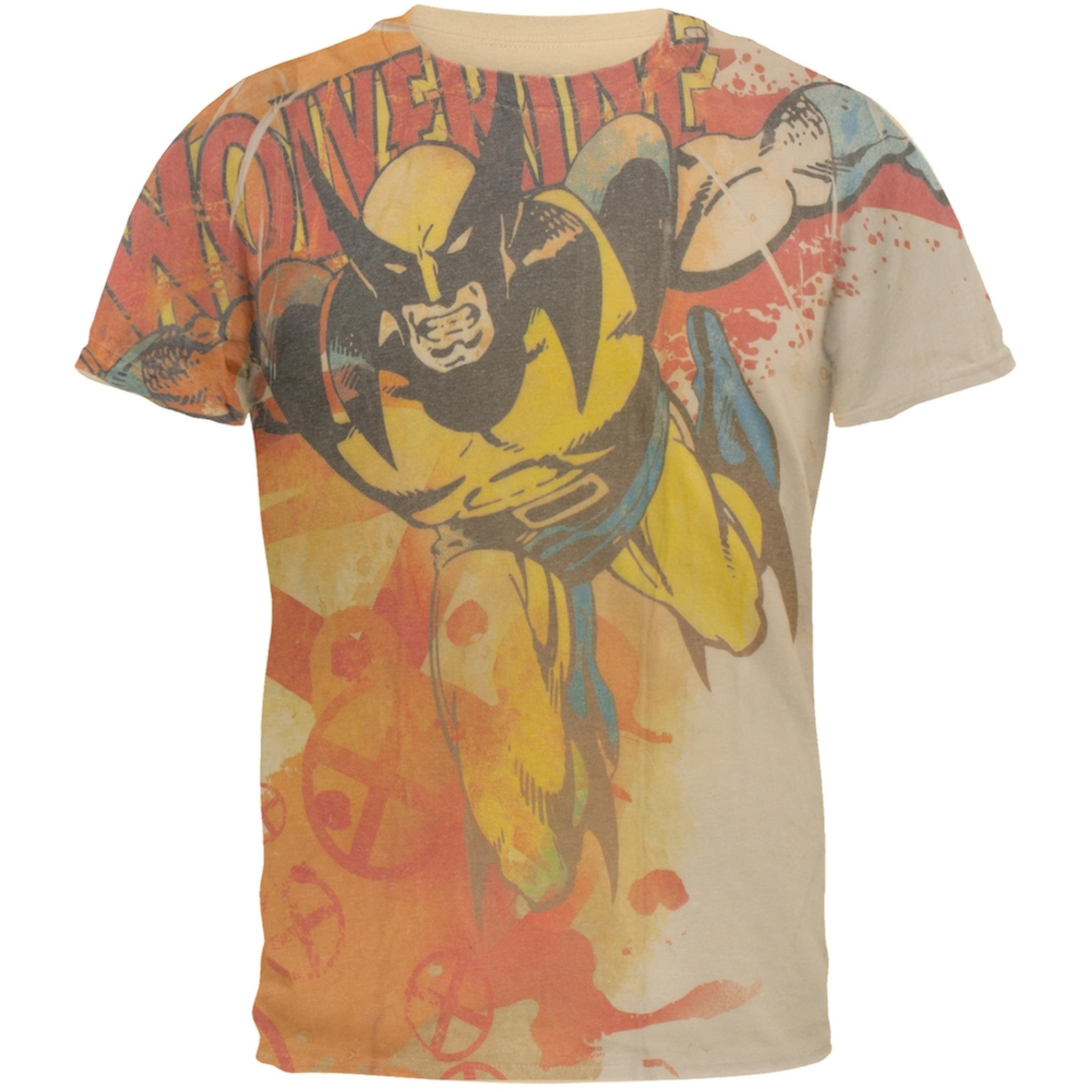 Wolverine - Attack All Over Soft T-Shirt
