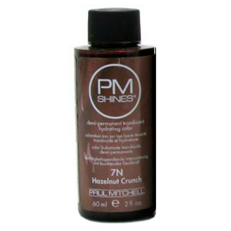 Paul Mitchell PM Shines Demi-Permanent Hair Color 2oz (7N) Hazelnut