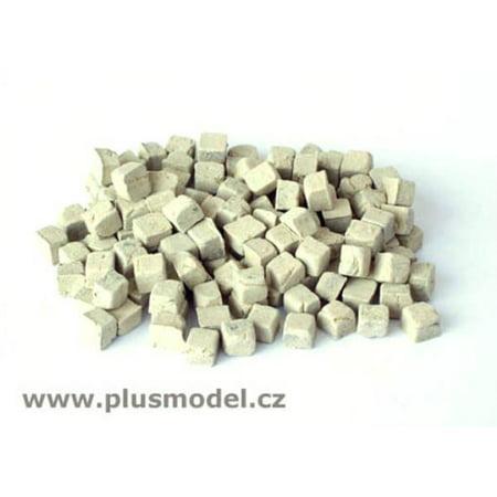 Resin Diorama (Plus Model 1:48 Small Sandstone Cobblestones Resin Diorama Accessory #4004 )