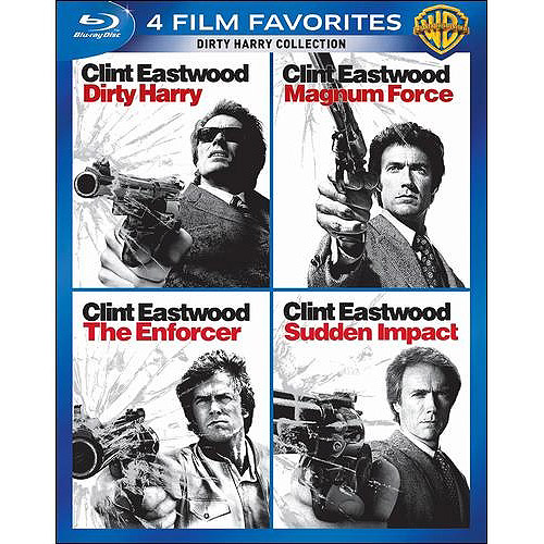 4 Film Favorites: Dirty Harry Collection - Dirty Harry / Magnum Force / The Enforcer / Sudden Impact (Blu-ray) (Widescreen)