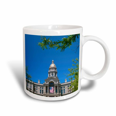 3dRose Dome, Capitol Building, Cheyenne, Wyoming - US51 BBA0031 - Bill Bachmann, Ceramic Mug, 15-ounce