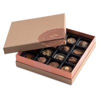 Nuttery- Signature Chocolate Mother's Day Gift Box of Assortment Milk Chocolates, 16 pieces