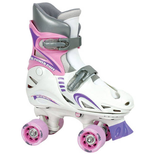 Chicago Skate Girls' Auto-Adjust Skates, 10-13