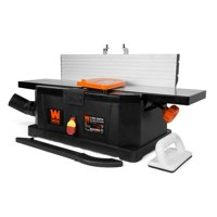 WEN 6-Inch 10-Amp Corded Benchtop Jointer with Filter Bag and Depth Scale, 6559