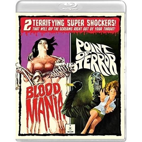 Blood Mania / Point Of Terror (Blu-ray + Blu-ray) OCNBRVS149
