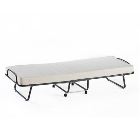 Torino Roll Away Folding Guest Bed With Metal Frame And 4