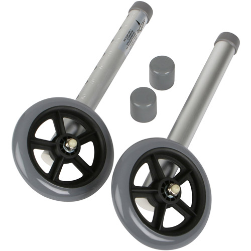 "Medline 5"" Walker Wheels, MDS86615W5"