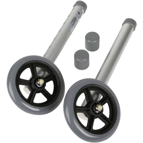 """Medline 5"""" Walker Wheels, MDS86615W5"""
