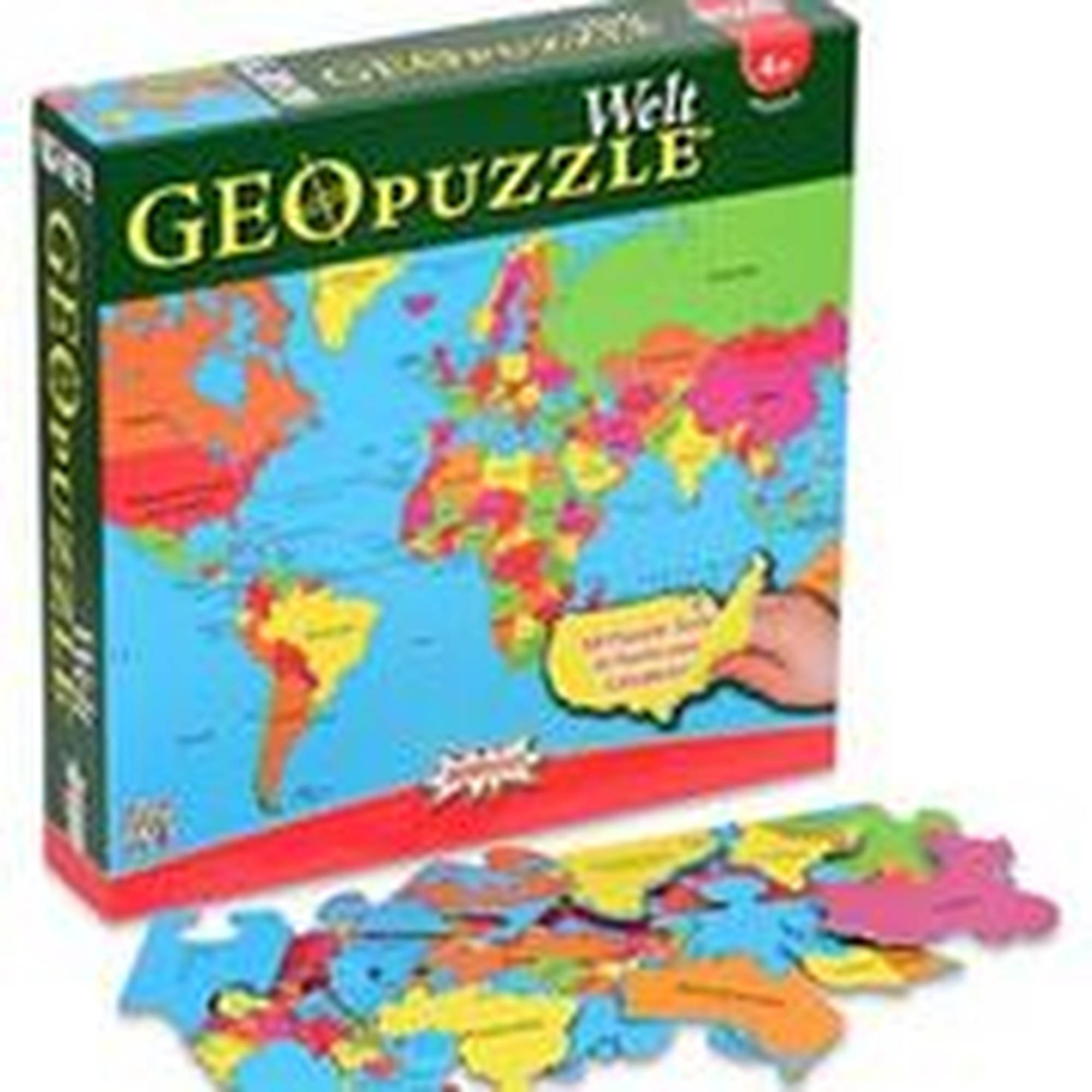 GeoPuzzle World, German Language Edition