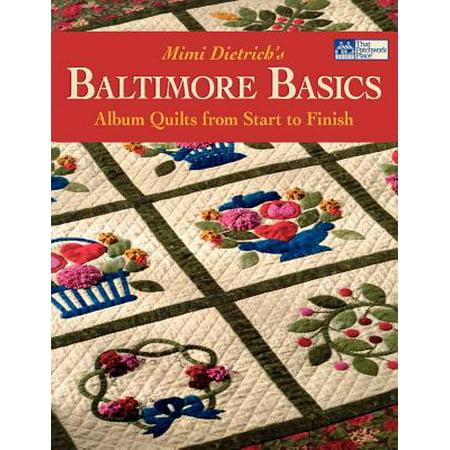 Baltimore Basics : Album Quilts from Start to - Baltimore Halloween Quilt