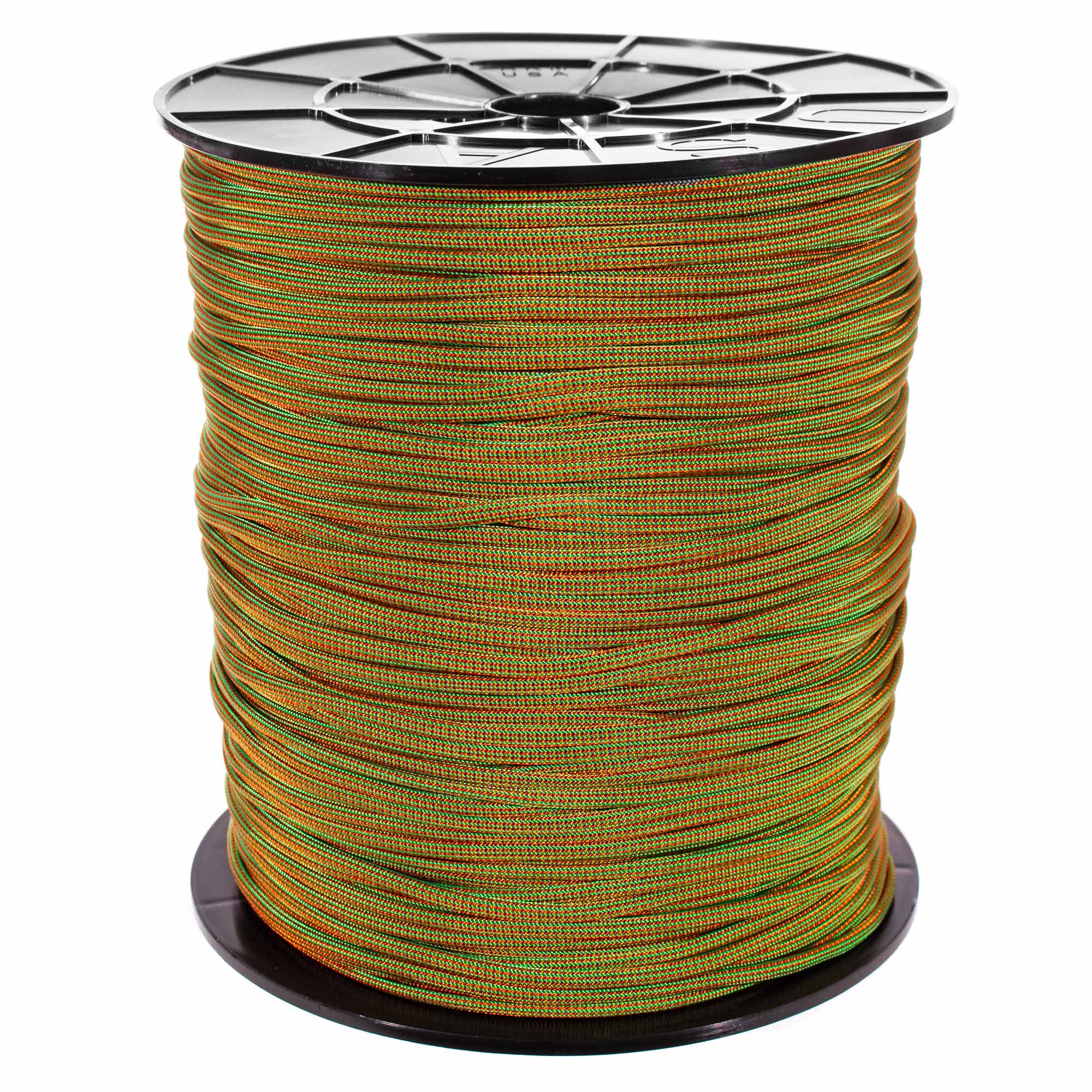 50FT Type III Chocolate Brown Paracord 550 Parachute Cord 7 Strand Made In USA