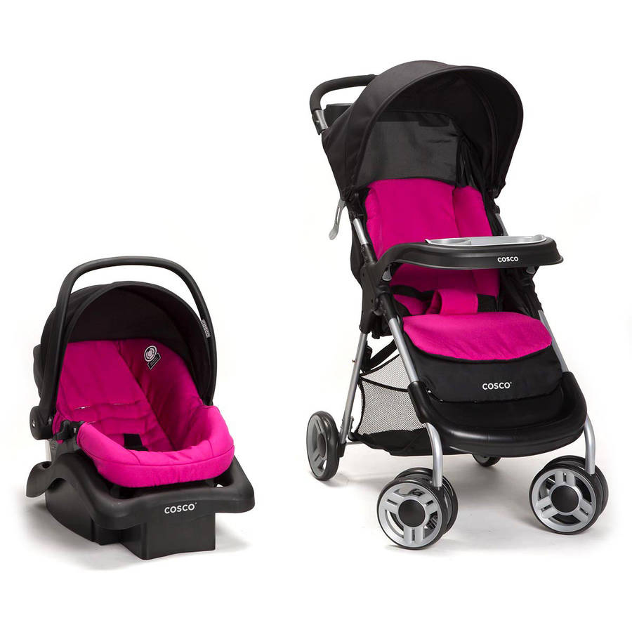 Cosco Lift & Stroll Plus Travel System, Black Arrows