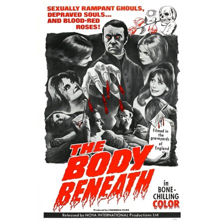 - The Body Beneath Center Top Gavin Reed 1-Sheet Poster 1970 Movie Poster Masterprint
