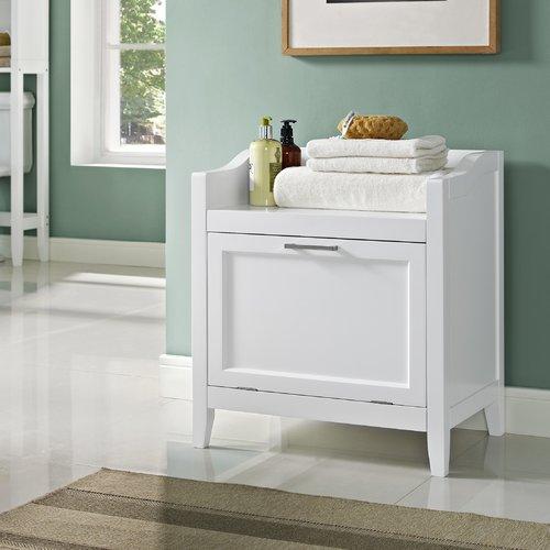 Simpli Home Avington Storage Hamper Bench by Simpli Home