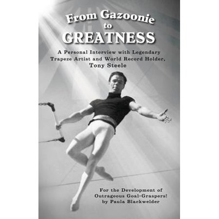 From Gazoonie to Greatness : A Personal Interview with Legendary Trapeze Artist and World Record Holder, Tony - Trapeze Artist