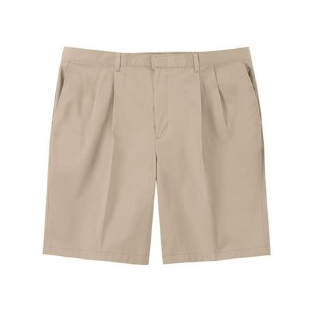 George Men's Big & Tall Pleated Shorts