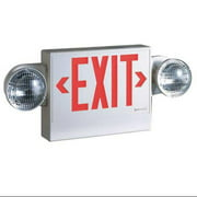 Exit Sign with Emergency Lights, Cooper Lighting, LPXH7DH