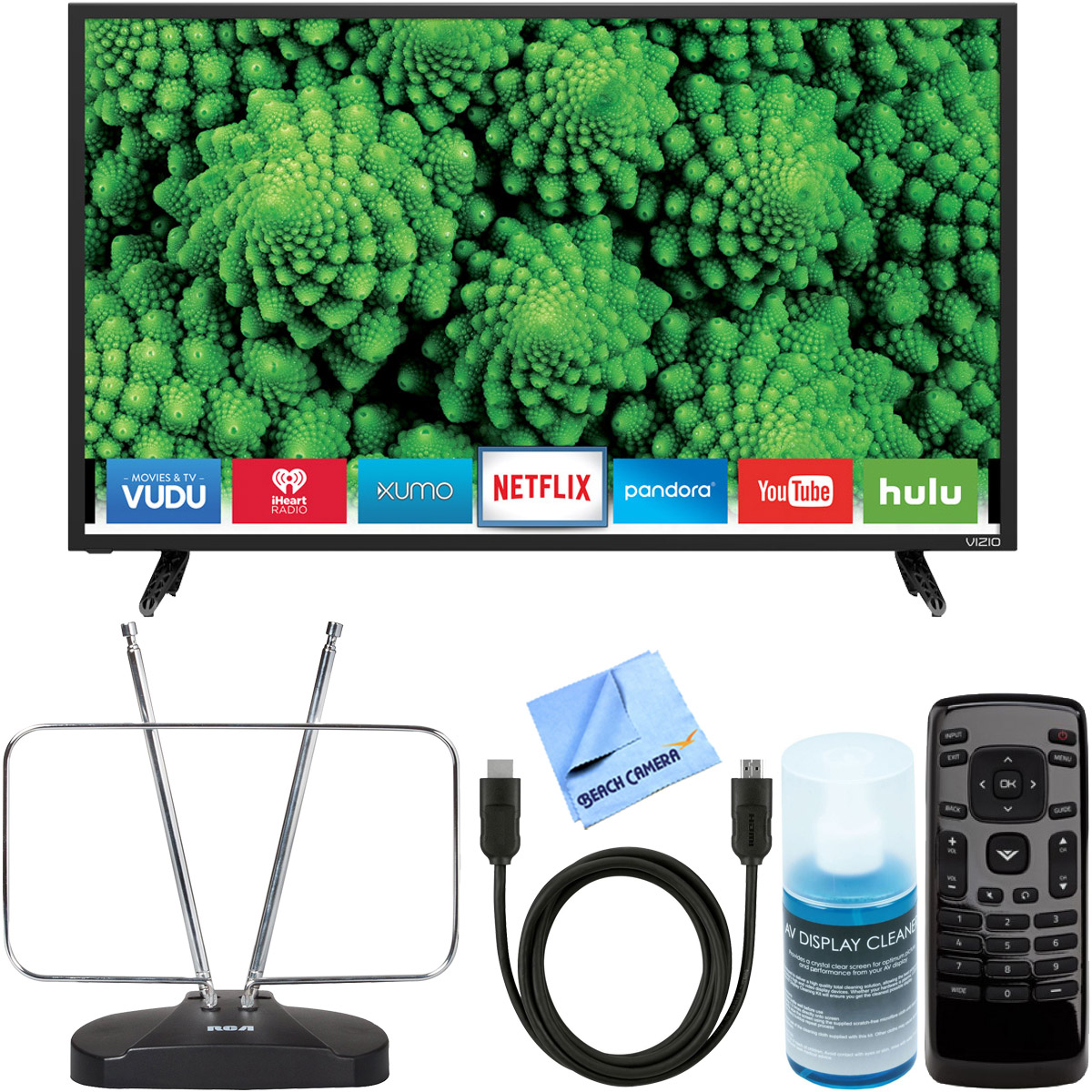 "Vizio D32-D1 D-Series 32"" Class Full Array LED Smart TV +..."