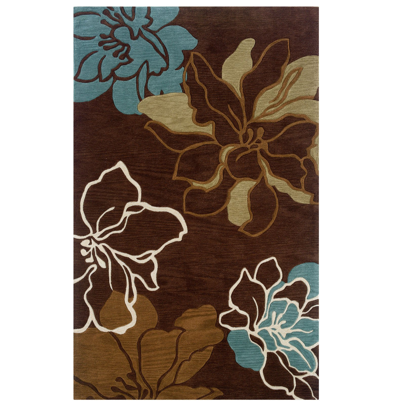 Contemporary Hand Tufted Area Rugs (2 ft. 10 in. L x 1 ft. 10 in. W (4 lbs.))