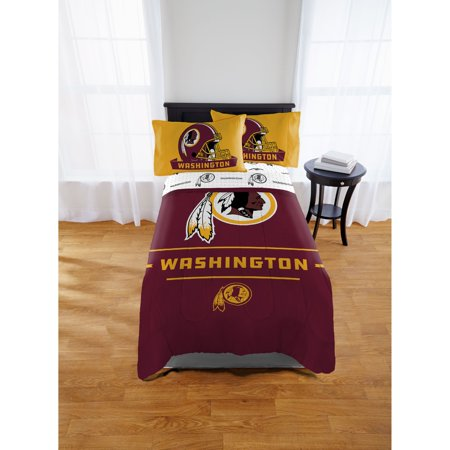 NFL Washington Redskins Monument Twin & Full Comforter Set, 1 Each