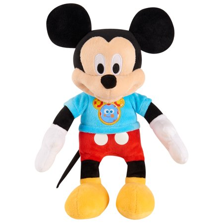 Mickey Mouse Clubhouse Fun Mickey Mouse Plush, Ages 3+