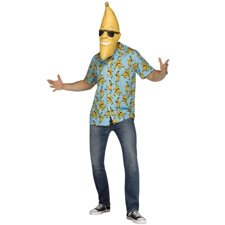 Goin' Bananas Adult Costume](Adult Banana Suit)