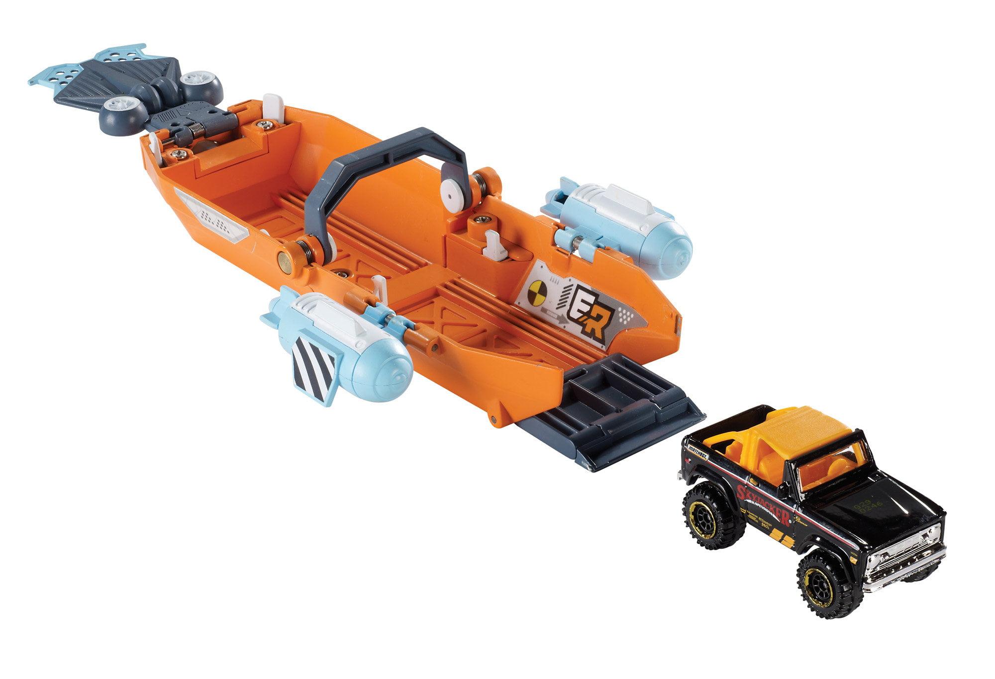 Matchbox Elite Rescue Turbo Canoe by Mattel