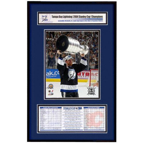 NHL - Tampa Bay Lightning - Brad Richards - 2004 Stanley Cup Champions Frame