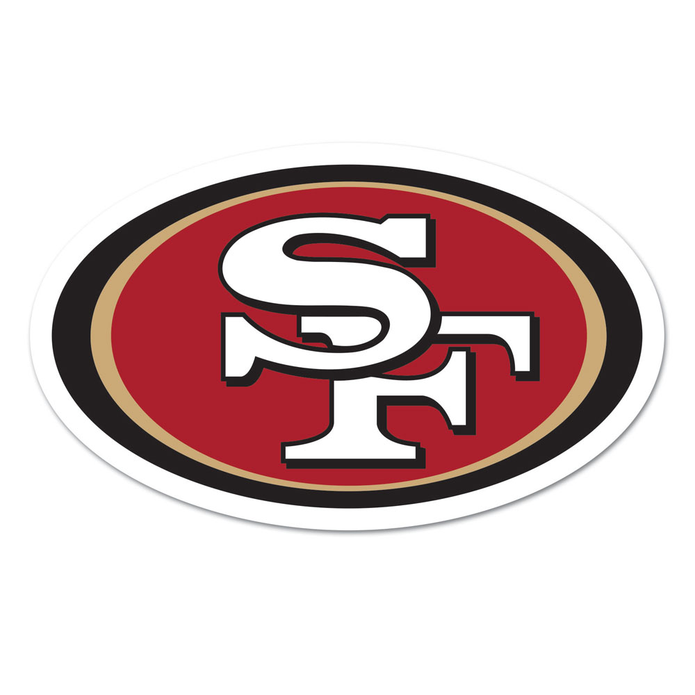 San Francisco 49ers Logo on the GoGo by Wincraft, Inc.